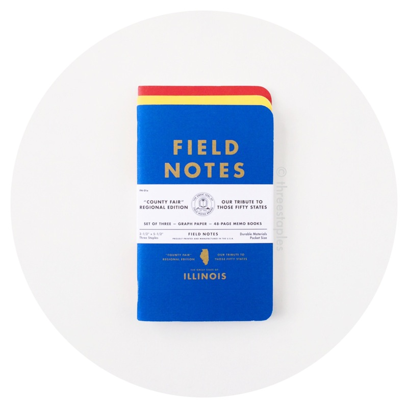 Field Notes Colors: County Fair (Summer 2010)