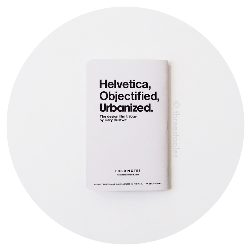 Field Notes: Design Trilogy (2015)