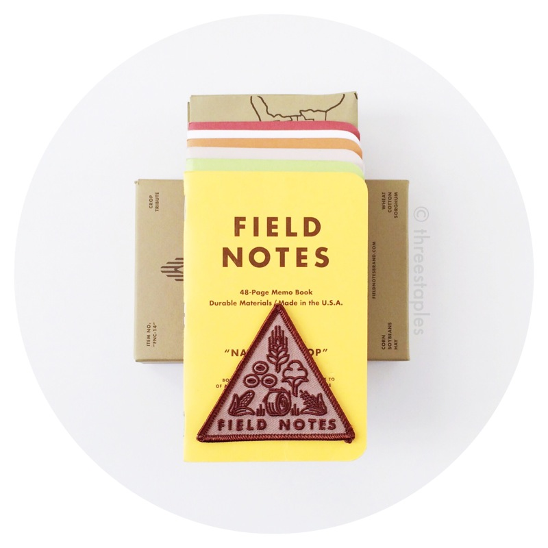 Field Notes Colors: National Crop (Spring 2012)