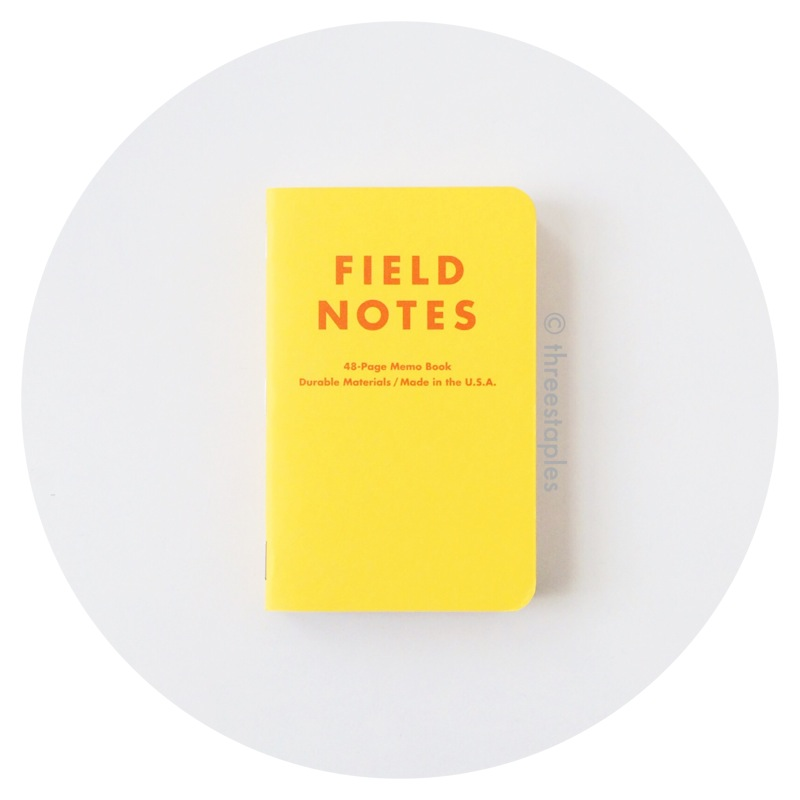 Field Notes Colors: Packet of Sunshine (Spring 2010)