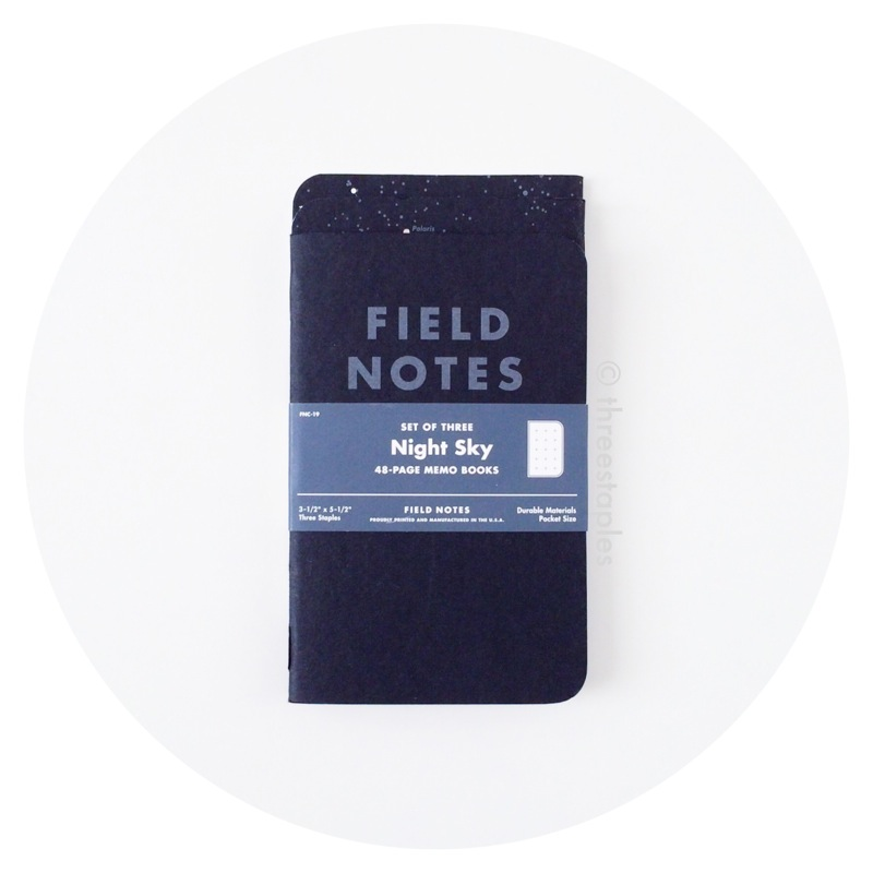 Field Notes Colors: Night Sky (Summer 2013)