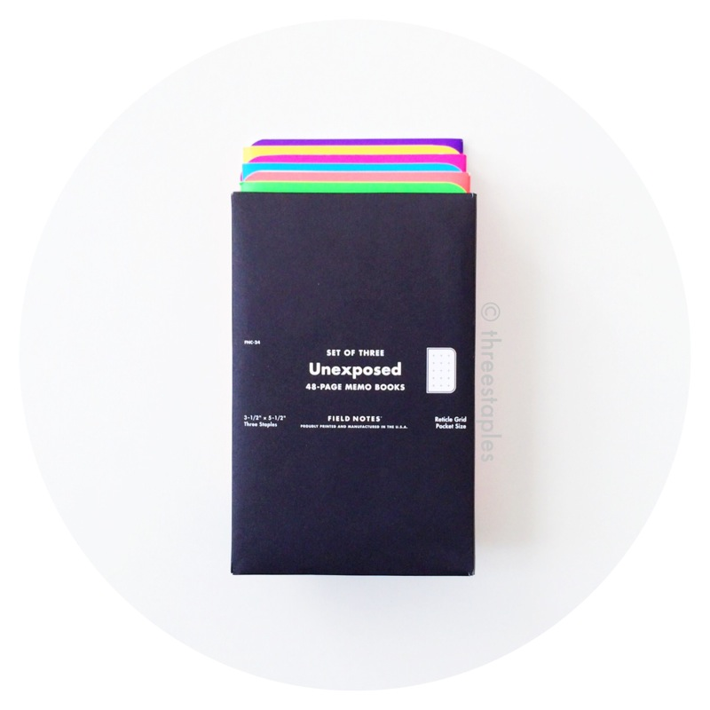 Field Notes Colors: Unexposed (Fall 2014)