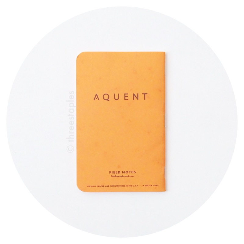 Field Notes: Aquent (Butcher Orange)