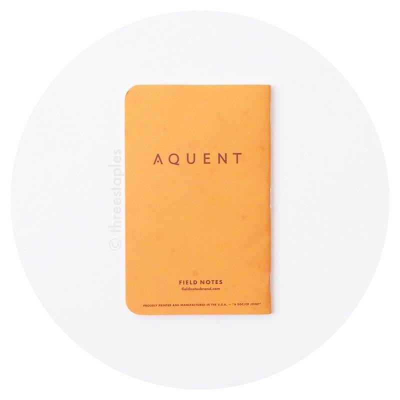 Field Notes: Aquent (Butcher Orange)