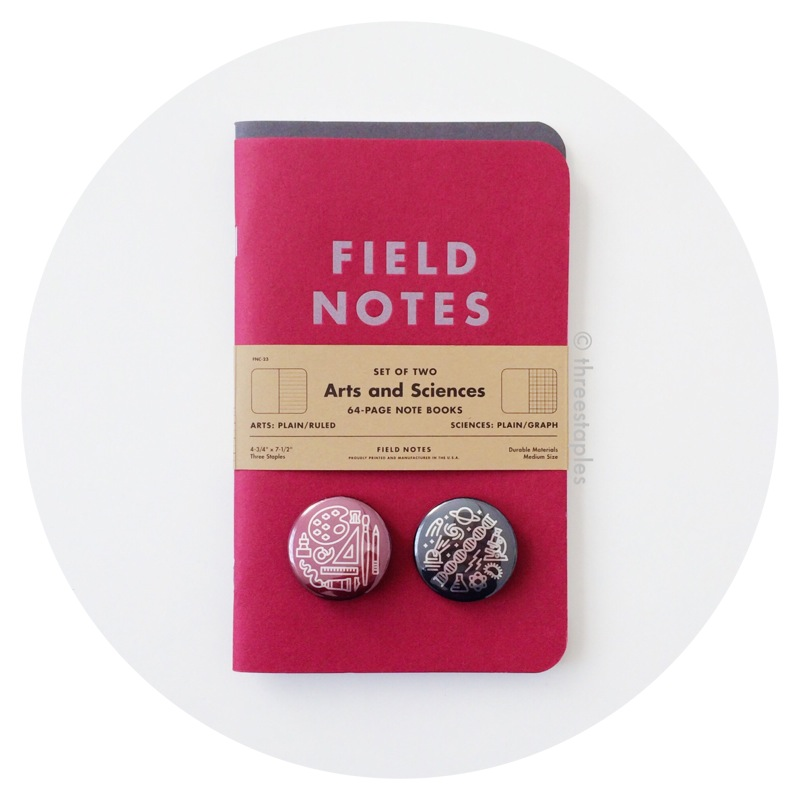 Field Notes Colors: Arts & Sciences (Summer 2014)