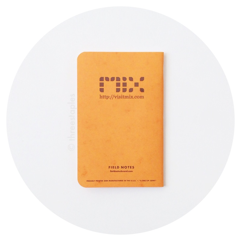 Field Notes: Microsoft Mix 2010 (Butcher Orange)