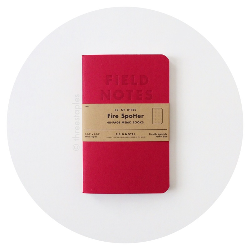 Field Notes Colors: Fire Spotter (Fall 2011)