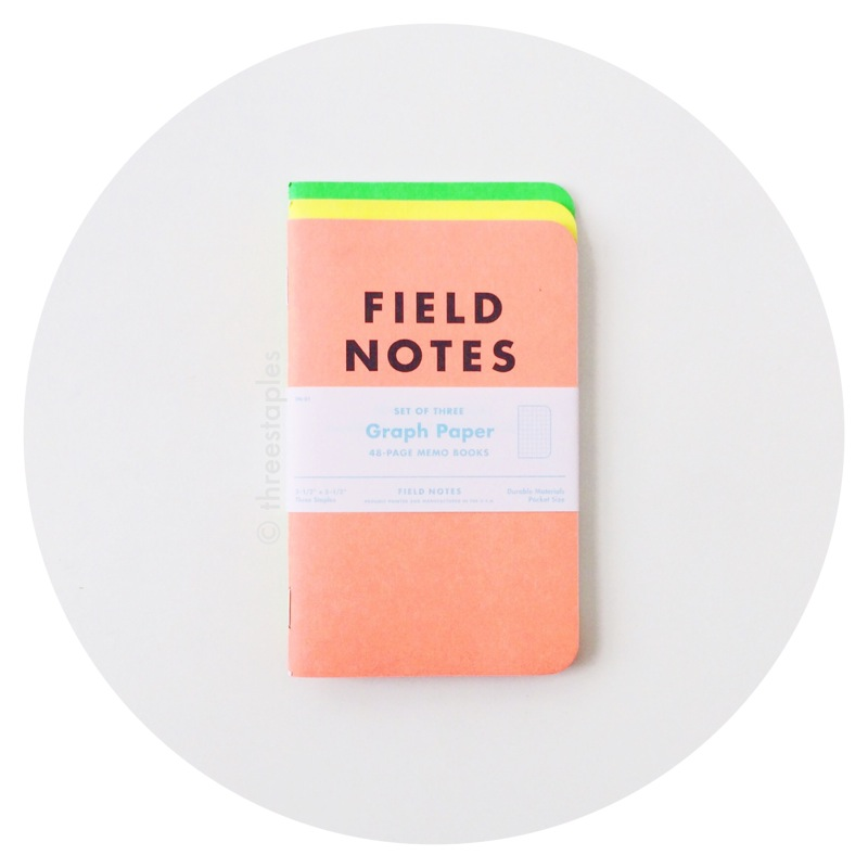 Field Notes: J. Crew Neon Summer Pops