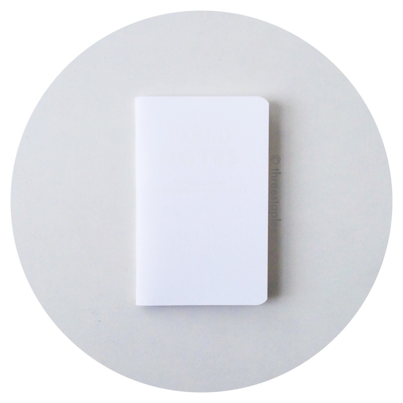Field Notes: Capsule Show (AW 2015) (it's white on white!)