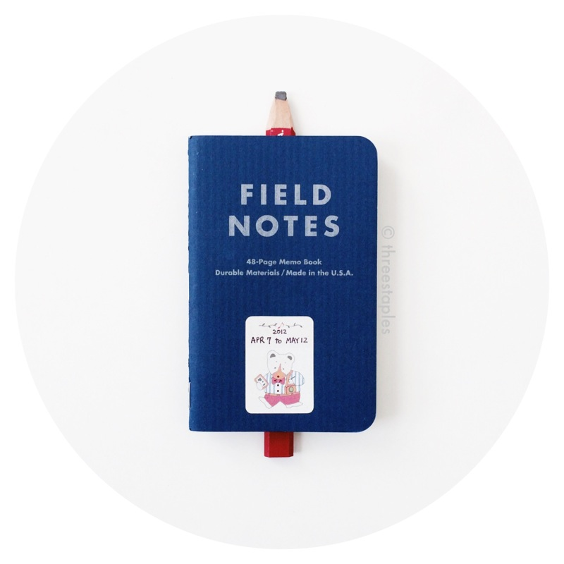 Field Notes Colors: American Tradesman (Summer 2011)
