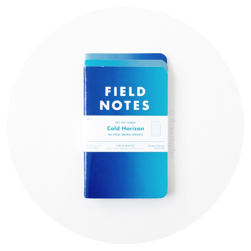 Field Notes Colors: Cold Horizon (Winter 2013)