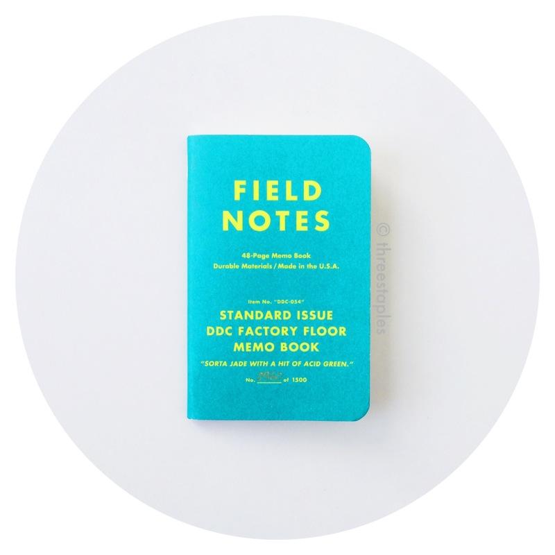 """Field Notes: DDC Standard Issue Factory Floor """"Sorta Jade"""" (2013)"""