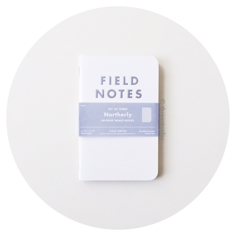 Field Notes Colors: Northerly (Winter 2011)