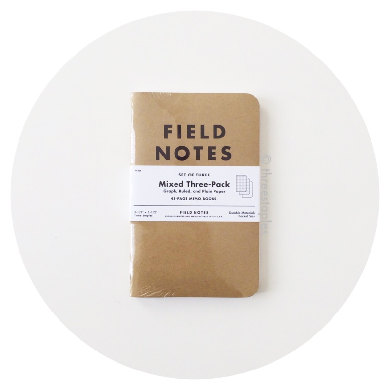 Field Notes: Original Kraft Mixed 3-Pack