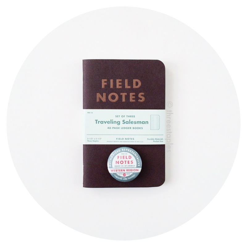 Field Notes Colors: Traveling Salesman (Fall 2012)