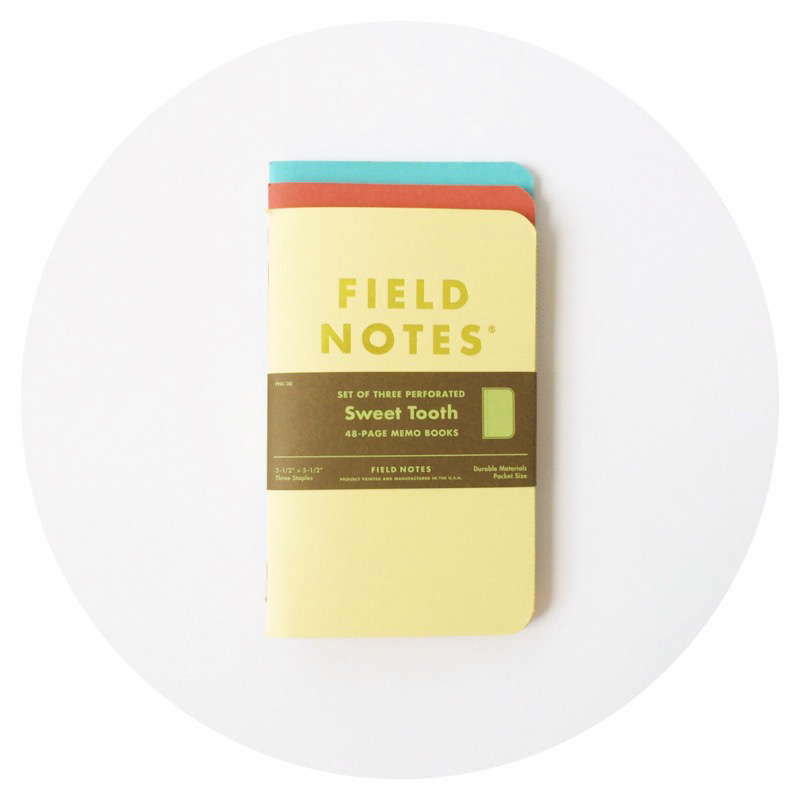 Field Notes Colors: Sweet Tooth (Spring 2016)