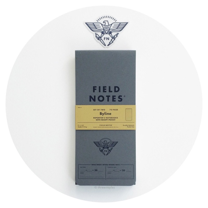 Field Notes Colors: Byline (Summer 2016)