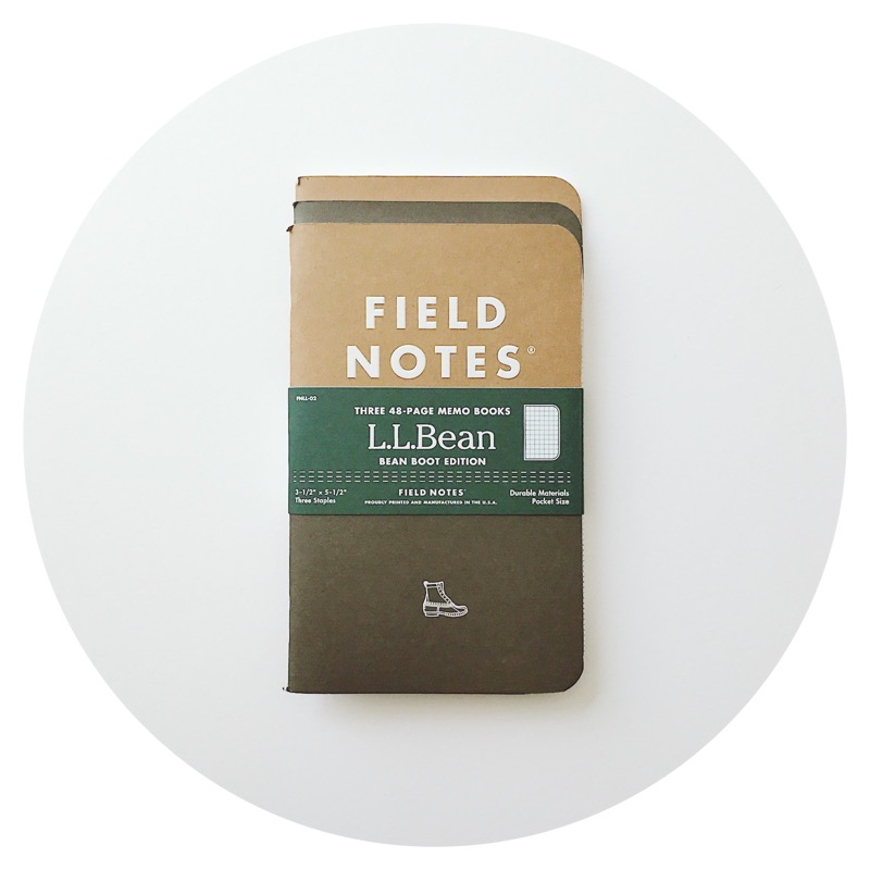 "Field Notes: L.L. Bean ""Bean Boot"" Edition (2017)"