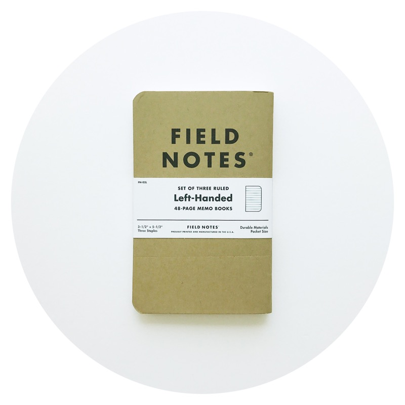 Field Notes: Left-Handed (2017)