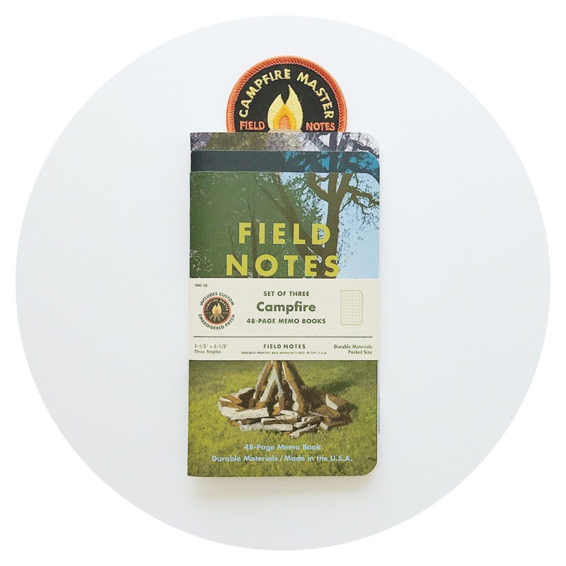 Field Notes Colors: Campfire (Summer 2017)