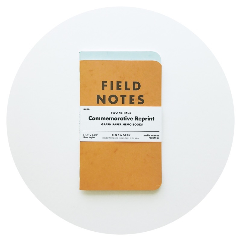 Field Notes: Commemorative Reprint