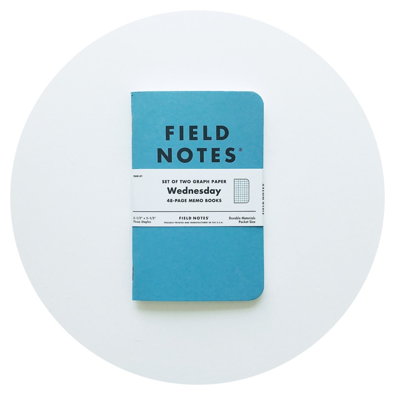 Field Notes: Wednesday (2017)