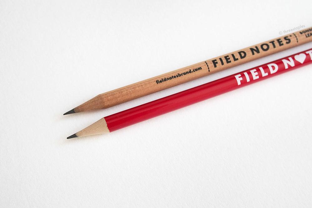 Wood looks a lot lighter than the cedar pencil.