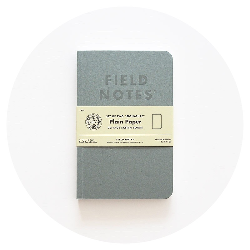 Field Notes: Signature (Plain)