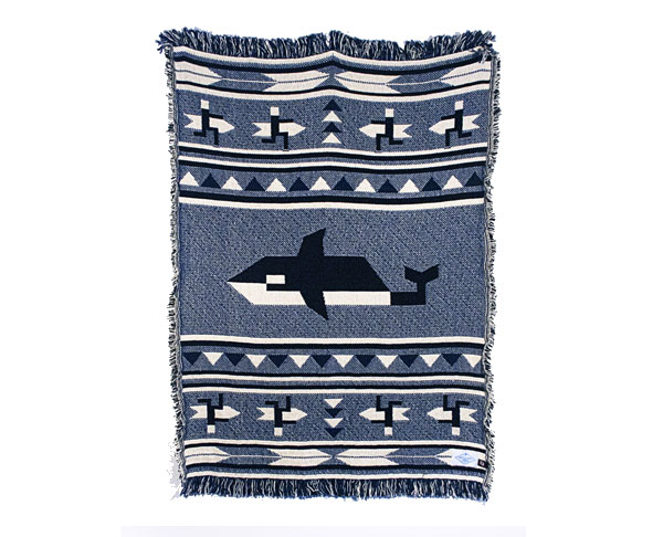 Orca Woven Blanket