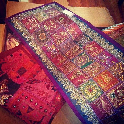 Fair Trade Tapestries available $37-60