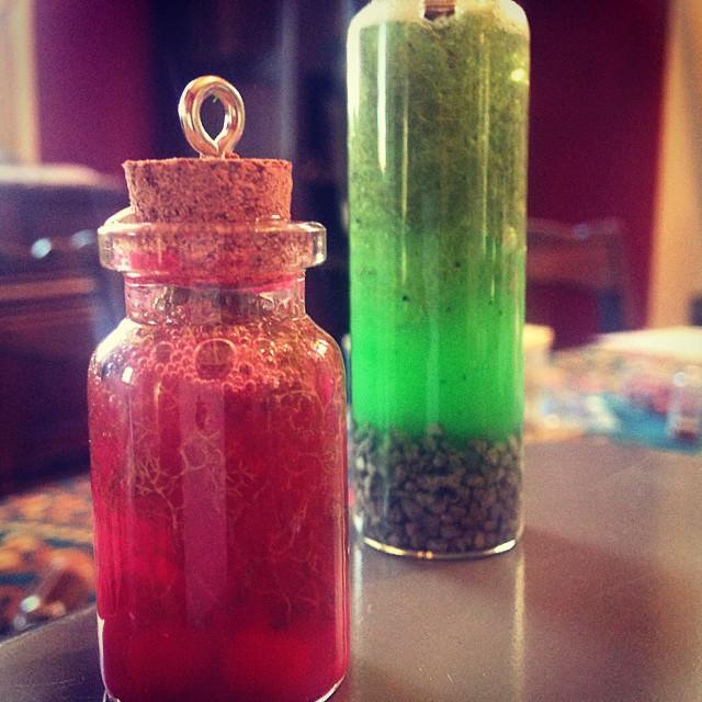 Potion bottles!