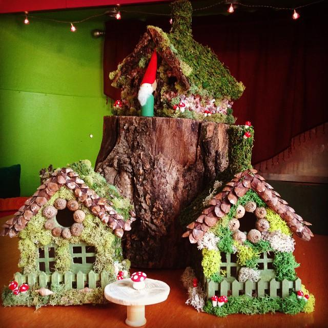 Gnome Dwellings.