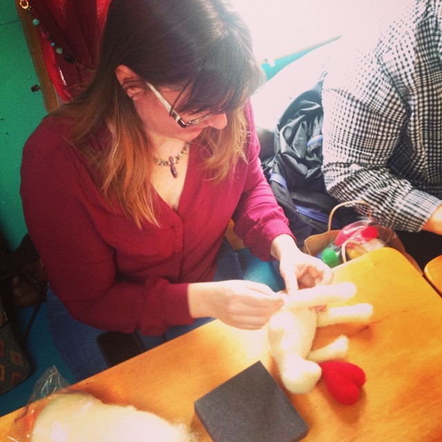 Needle Felting Workshop!