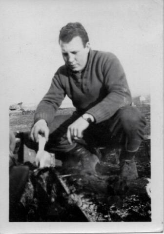 Cadet Midshipman John Dibble MacRitchie