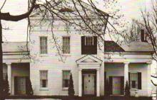 John Potter Cook's home on North Street.