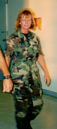 Master Sgt. Tracey Jo Jagger - Air Force 1977-2004