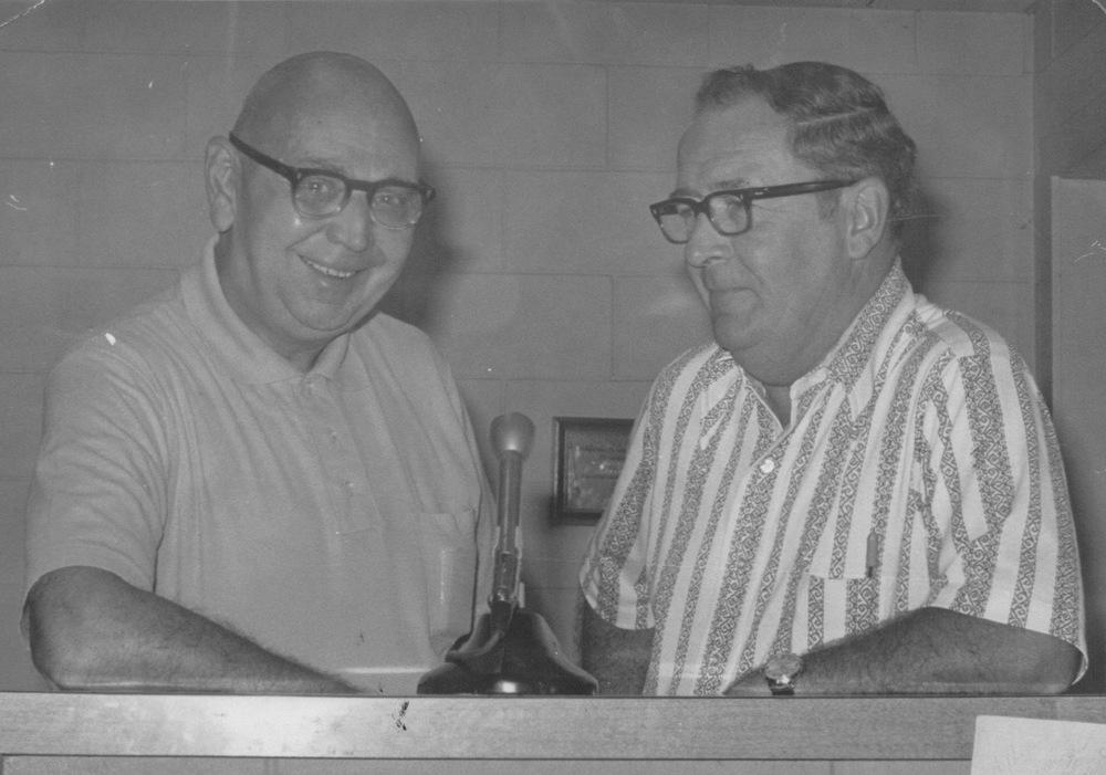 Pat patterson & Tony Flynn