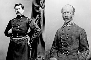 George McClellan & Joseph Johnson
