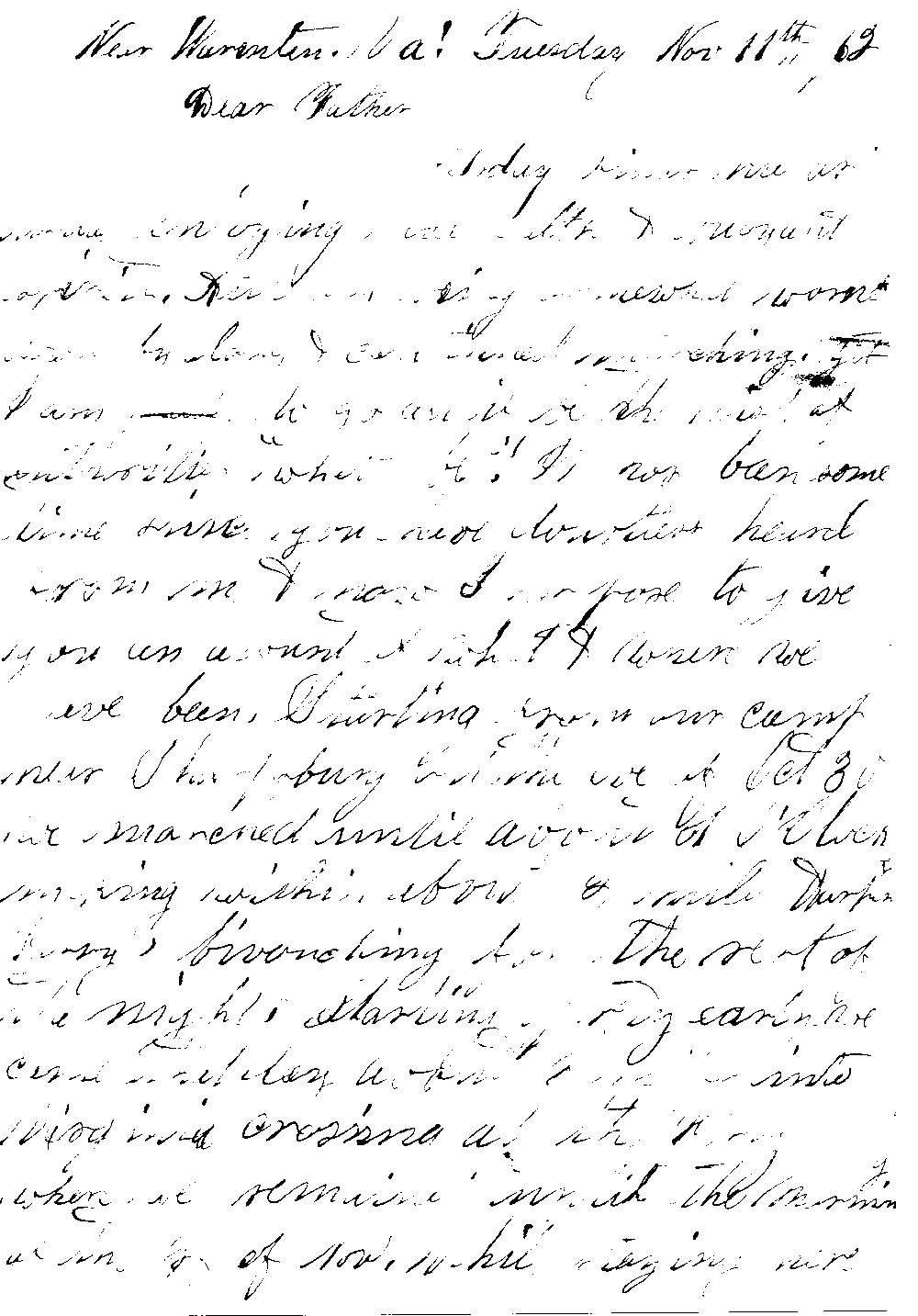 letters from the civil war - the fountain family