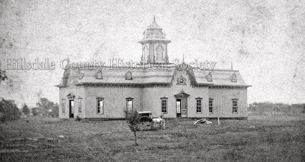 Floral HALL, one of the earliest Fair Buildings, constructed in the late 1860's, was built in the form of a cross. It later became known as the old merchants' hall.
