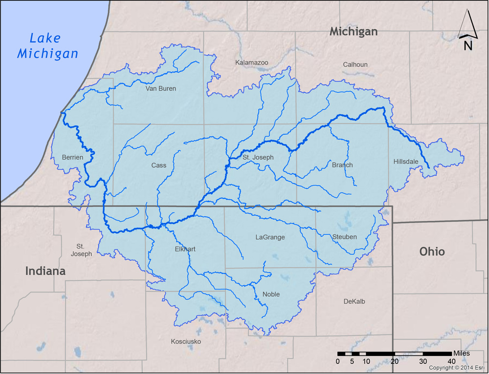 the St. Joe watershed