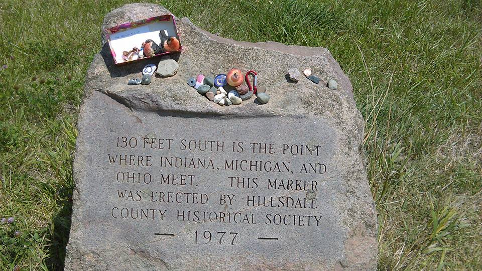The Tri-State Marker & Geocaching