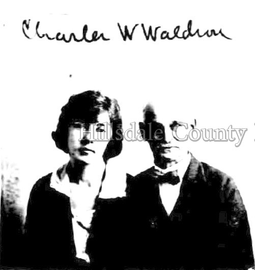 Charles W. Waldron with Frances