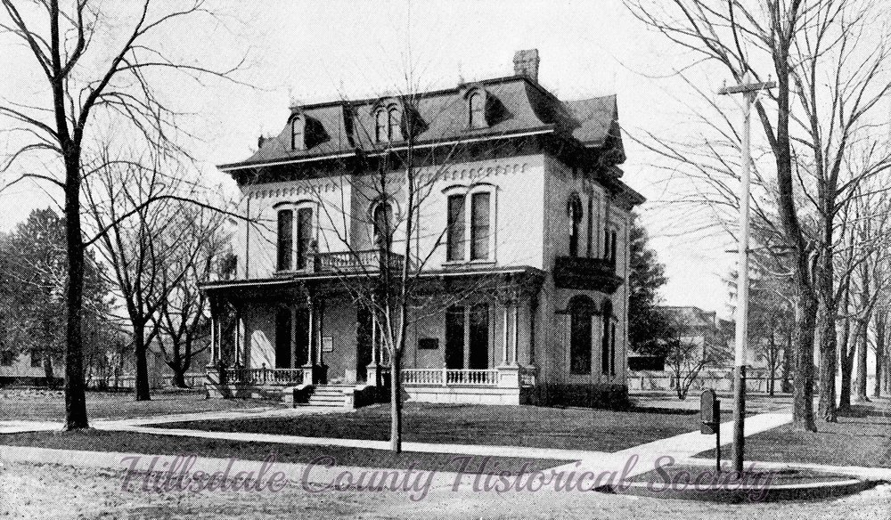 The Mitchell home on the corner of Manning and McCollum streets