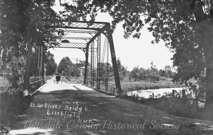 The st. joe river bridge near the mill.