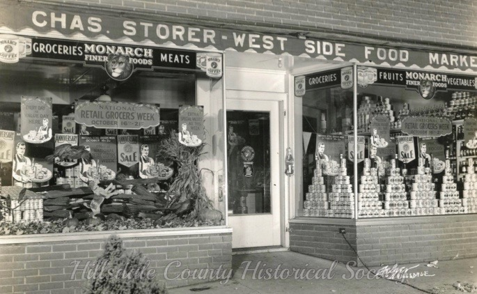 Charles Storer's west side food Market on Westwood Street was the predecessor to Lartry's Market, owned by Larry Golding.