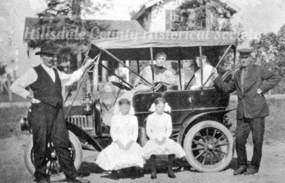 the crow family in their first amboy auto