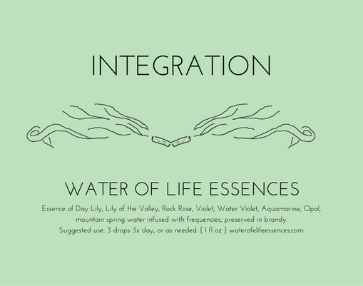 integration water of life essences