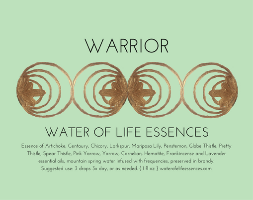warrior water of life essences