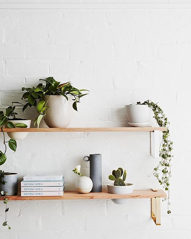 With a new apartment in Portland, I cannot stop searching for interior design inspiration, such as this beautiful #shelfie #theobliqueblog